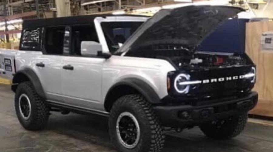 Novinky: Podoba nového Fordu Bronco unikla před premiérou
