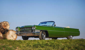Cadillac Coupe deVille Convertible 1964