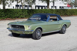 Ford Mustang BIG BLOCK / 1 ze 67/ V ČR 1968