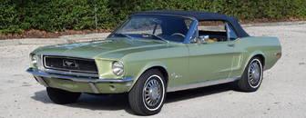 Ford Mustang BIG BLOCK / 1 ze 67/ V ČR 1968