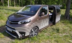 Recenze & testy: Toyota Proace Verso Nomad: Kempování za časů korony