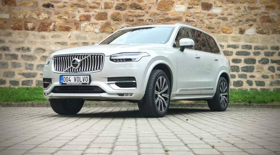 Recenze & testy: Volvo XC90 B6: Spokojený Uživatel Vesmíru