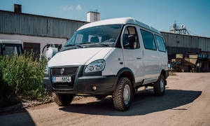 Představujeme, Recenze & testy: GAZ 27527 Sobol: Offroadový minibus, co není Buchanka