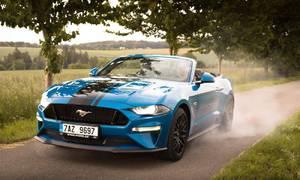 Recenze & testy: Ford Mustang GT Convertible: Tvor extrovertní