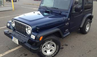 Jeep Wrangler 4.0 L Manual 6-speed Hard Top 2005
