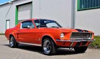 Ford Mustang FASTBACK V8  V ČR! 1967