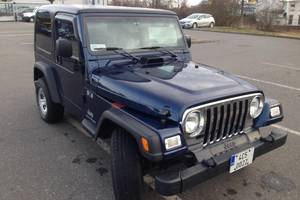 Jeep Wrangler Hard top manual 4,0L benzin 2005