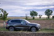 BMW X5 xDrive45e: Zpracování nad zadáním
