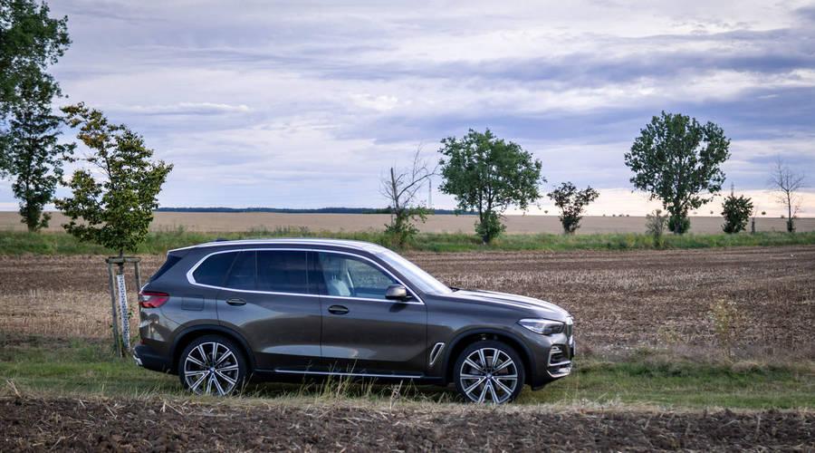 Recenze & testy: BMW X5 xDrive45e: Zpracování nad zadáním