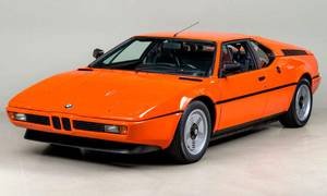 Historie: BMW M1: Zcela neitalský italský supersport