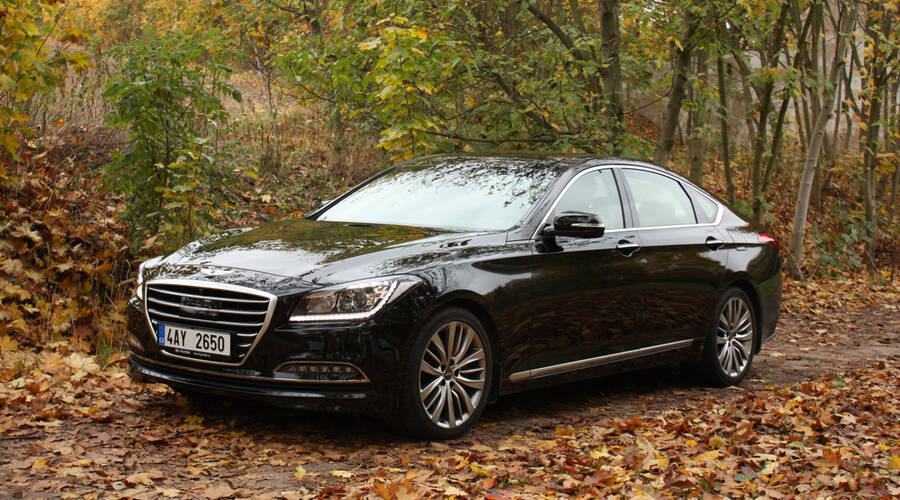 Recenze & testy: Hyundai Genesis 3.8 – Jednou nohou v luxusu
