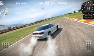 Virtuální volant: Virtuální volant: CarX Drift Racing