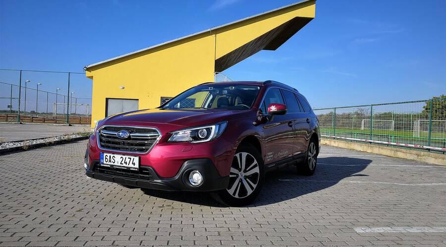 Recenze & testy: Subaru Outback 2.5i-S Sport ES: Kamarád do nepohody