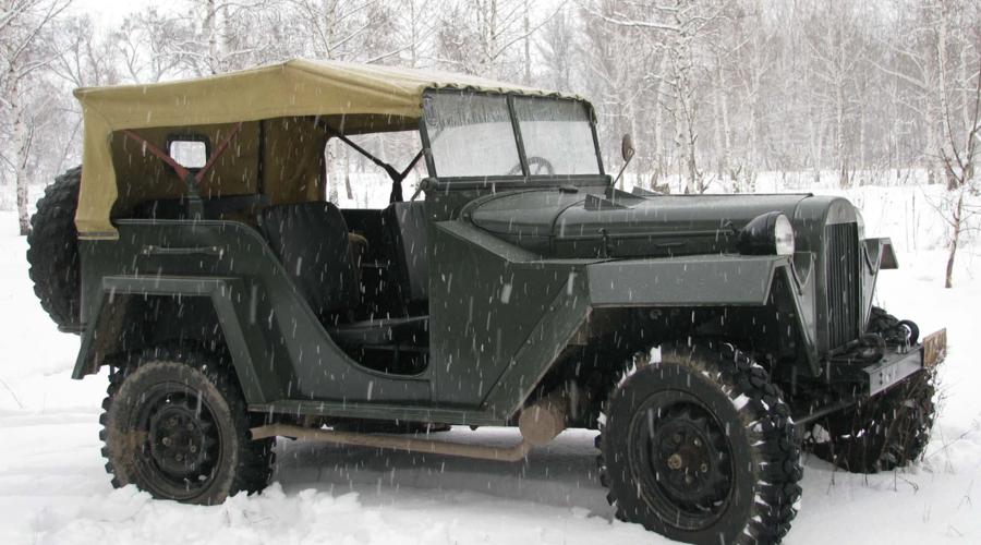 Historie: Výlet do historie: Jak Sověti neokopírovali Jeep