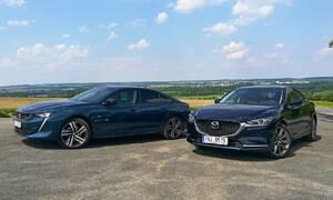 Recenze & testy: Mazda6 2.5i Revolution versus Peugeot 508 GT PureTech 225 - souboj alternativ