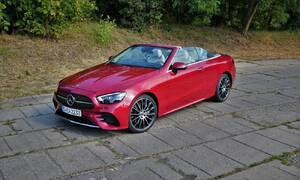 Představujeme: První jízda: Modernizovaný Mercedes-Benz třídy E (a jedno velmi ostré SUV)