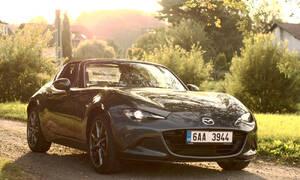 Garážoví kutilové, Recenze & testy: Mazda MX-5 RF 2.0: Analogové auto v digitálním světě