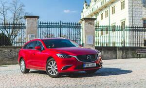 Recenze & testy: Mazda6 Wagon 2.2 Skyactiv-D: Jejím revírem je dálnice