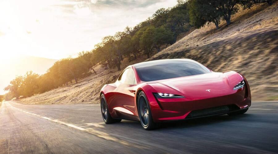 #autickarfuturista, Představujeme: Jak rychlá a fantastická má být nová Tesla Roadster? Podezřele moc