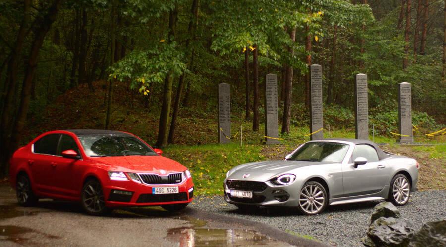 Recenze & testy: Fiat 124 vs. Škoda Octavia RS: Tak co je tady vlastně sportovní?