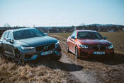 Drag race | Volvo XC60 T8 vs. BMW M240i: Zapomeňte na čísla!