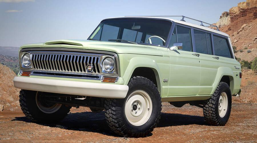 Představujeme: Jeep přiváží na Moab Easter Jeep Safari sedm rozličných konceptů