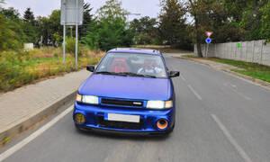 Garážoví kutilové, Recenze & testy: Mazda 323 V6 K8: Mámin sedan