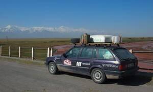 Autíčkář na cestách: Mongol Rally 2018 část 8. : O placení pokut, kazašském Grand Canyonu a ruské Le Mans
