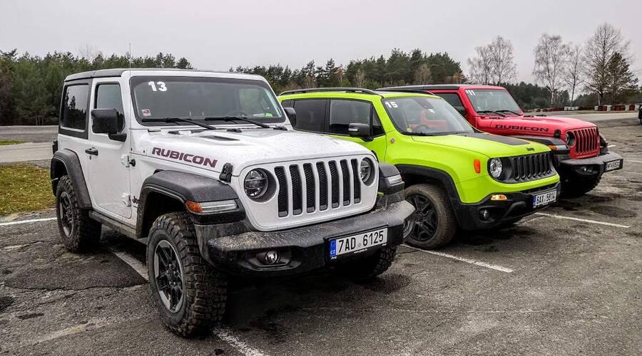 Autíčkář na cestách: Jeep Experience: Džíp na pět způsobů