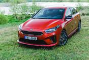 Kia Ceed GT: Nymburkring material