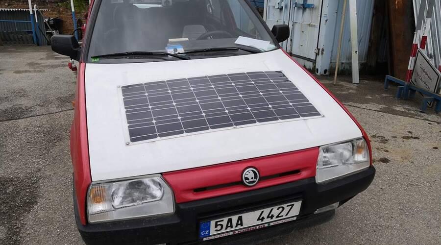 #autickarfuturista, Historie, Recenze & testy: Škoda Eltra 151L: Domácí elektromobil