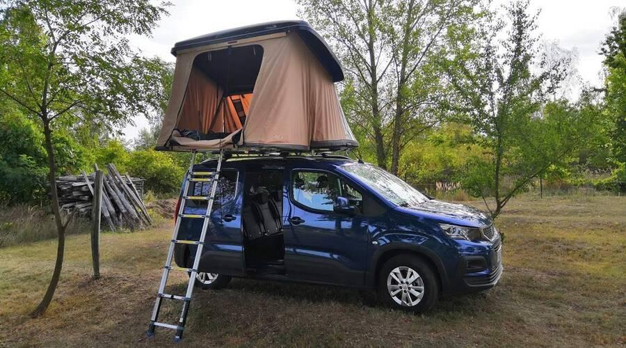 Recenze & testy: Peugeot Rifter + stan Hussarde Quattro: Ideál aktivní rodinky