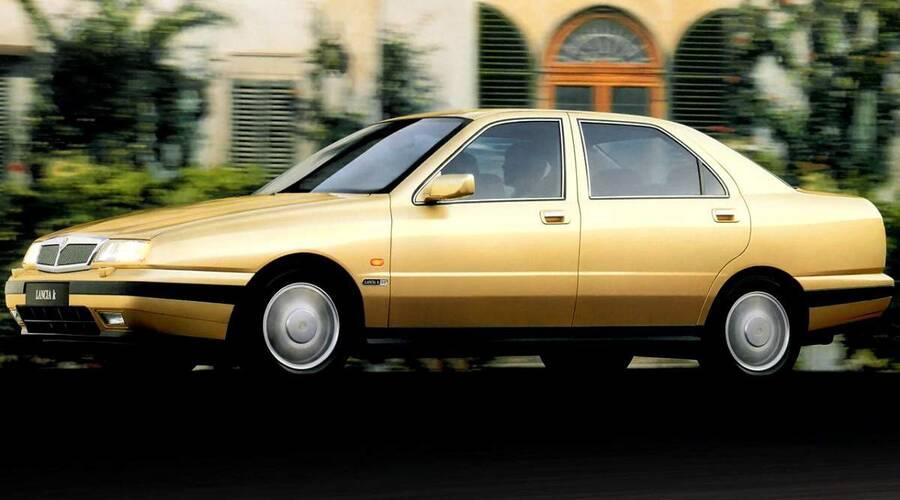 Historie: Lancia Kappa: Důstojné stáří