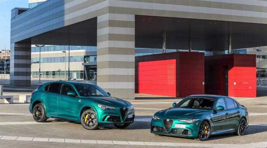 Novinky: Faceliftovaná Giulia a Stelvio Quadrifoglio jdou s dobou. Jsou velmi zelené.