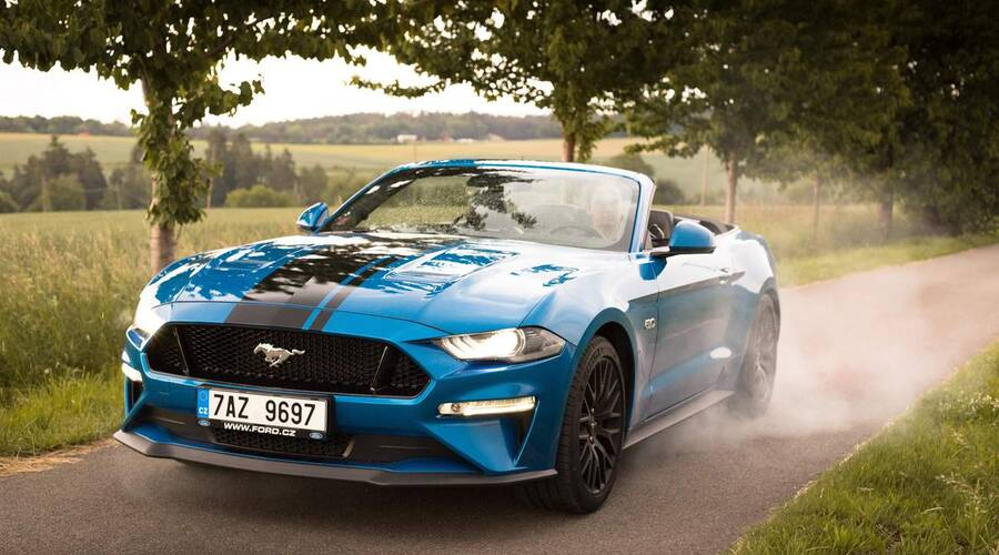 Recenze & testy: Ford Mustang GT Convertible: Tvor extrovertní