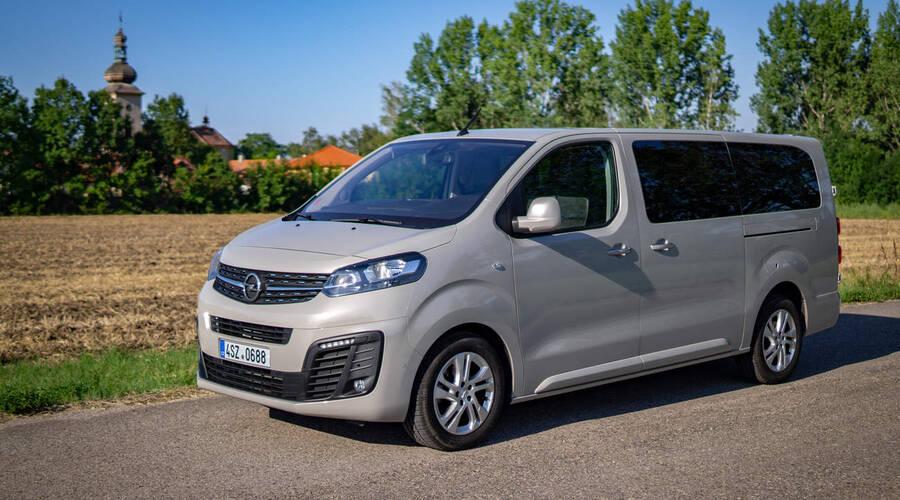 Recenze & testy: Opel Zafira Life: Omyvatelný přístroj