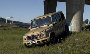 Recenze & testy: Jak mě Mercedes-Benz G 350d nepřipravil o iluze