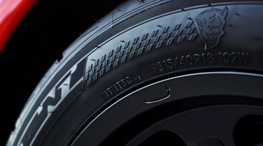 Novinky: Pneumatiky nového Challengeru Demon budou stejně úchylné, jako zbytek auta