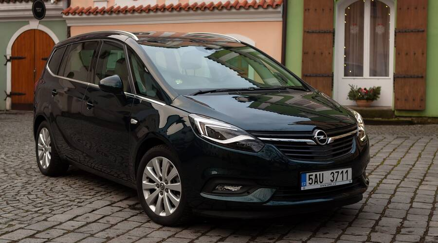 Recenze & testy: Opel Zafira 2.0 CDTI: Nenápadný pragmatik