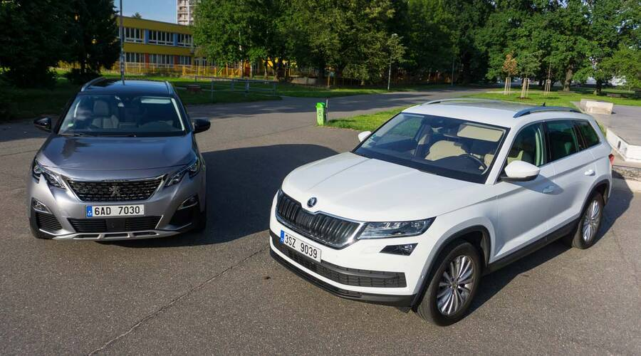 Recenze & testy: Škoda Kodiaq vs. Peugeot 5008: Rozum proti pocitům