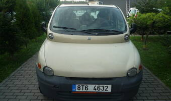 Fiat Multipla Multipla na LPG po stk 2001
