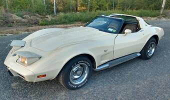 Chevrolet Corvette C3 targa, 25th anniversary 1978