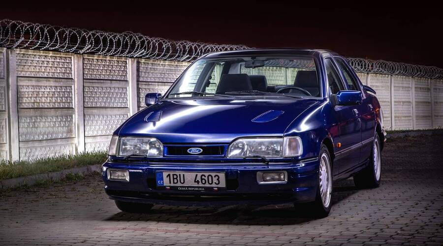 Recenze & testy: Ford Sierra RS Cosworth 4x4 Limited Edition: Poslední mohykán