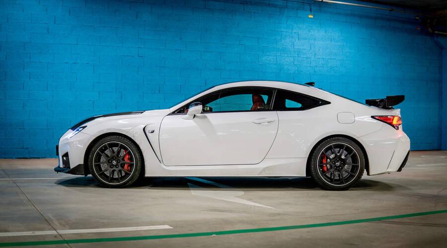 Recenze & testy: Lexus RC-F Track Edition: Beránek v rouše vlčím
