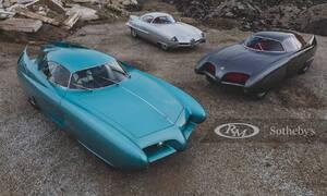 Novinky: Jedinečná nabídka: Na prodej je trojice konceptů Alfy z padesátých let.