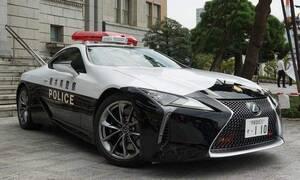 Novinky: Chcete si vozit pozadí v Lexusu LC 500? Narukujte do japonské policie
