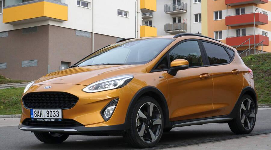 Recenze & testy: Ford Fiesta Active 1.0 EcoBoost mHEV: Cestou necestou