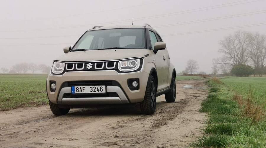 Recenze & testy: Suzuki Ignis 1,2 DualJet Hybrid 4x4: Venkovan