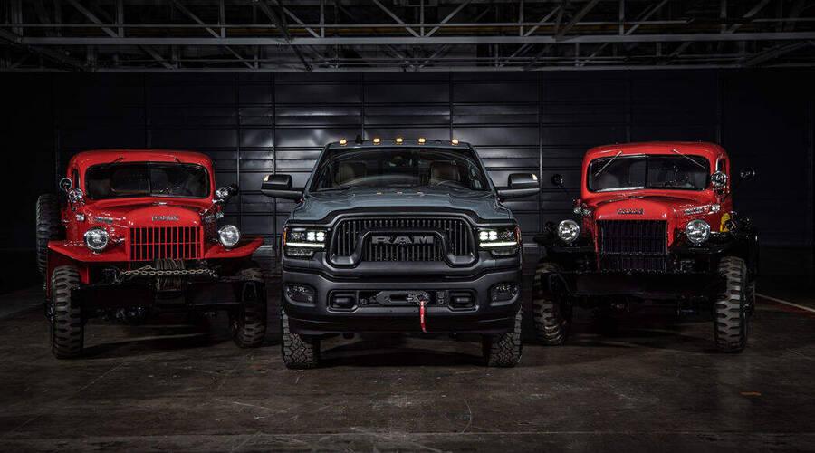 Novinky: Dodge vzpomíná na legendární Power Wagon limitovanou edicí RAMu