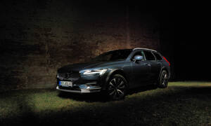 Recenze & testy: Volvo V90 Cross Country B5: Tmavomodrý svět